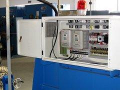 <h6>EH600W(B)系列变频器在动力收放线</h6><p>摘要: EH600W(B)作为动力收放线专用变频器不仅可以实现断线时自动反转,停机时不反复摆动,通过利用卷绕专用的功能,可以节省断线检测相关电路。 1、引言 线缆行业目前正在向产品</p>